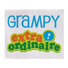 Grampy Extraordinaire Throw Blanket