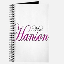 Mrs Hanson Journal