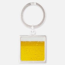 Beer Square Keychain