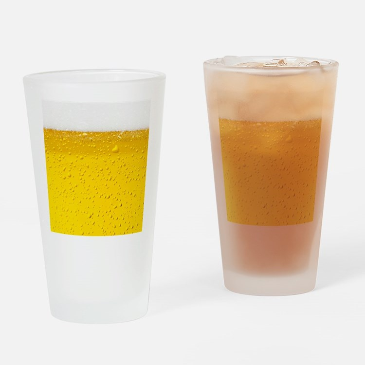 Beer Drinking Glass