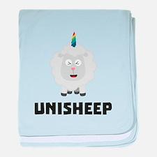 Unicorn Sheep Unisheep C4txe baby blanket