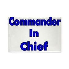 Commander in Chief Rectangle Magnet