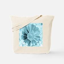blossom aqua Tote Bag