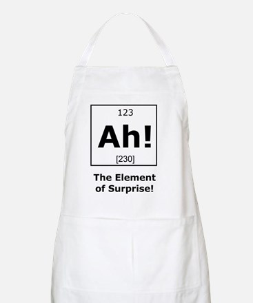 Ah! The element of surprise! Apron