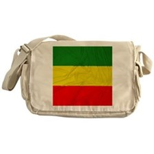Rasta Flag Messenger Bag