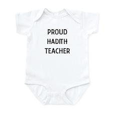 HADITH teacher Infant Bodysuit