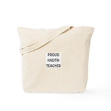 HADITH teacher Tote Bag
