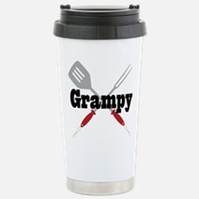 Grampy BBQ Grill Travel Mug