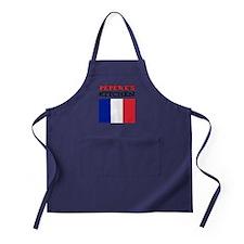 Peperes Kitchen French Apron Apron (dark)