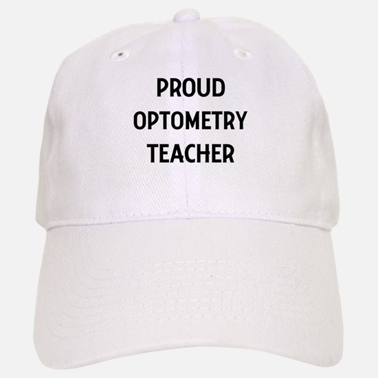 OPTOMETRY teacher Baseball Baseball Cap