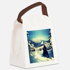 Trestle creek view Canvas Lunch Bag