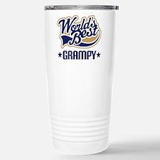 Worlds Best Grampy Stainless Steel Travel Mug