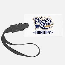 Worlds Best Grampy Luggage Tag