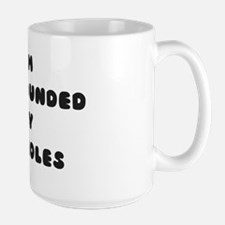 surrounded Large Mug
