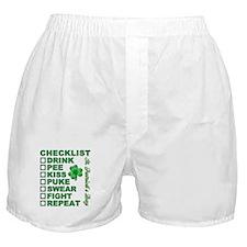 CHECKLIST Boxer Shorts