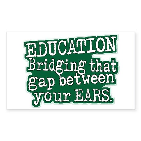 Education, Bridging The GAP Between Your Ears Stic