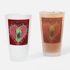 Soft Coated Wheaten Terrier Valentine Heart Drinki