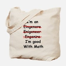 Im good with math Tote Bag