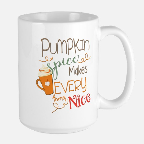 Pumpkin Spice Makes Every Mug