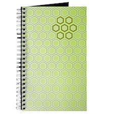 Honeycomb Green Graphic Journal