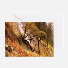 Yosemite, California - Albert Bierst Greeting Card