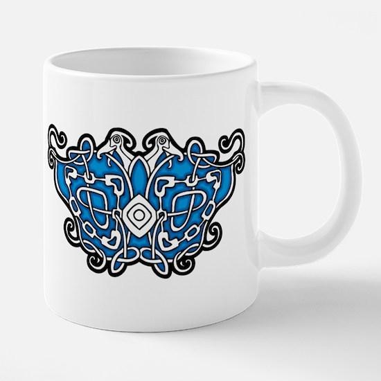 CELTIC24_BLUE Mugs