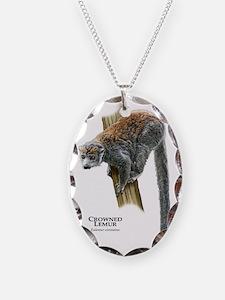 Crowned Lemur Necklace