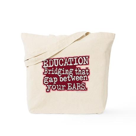Education, Bridging That GAP Tote Bag