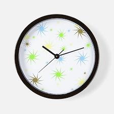 Comets Wall Clock