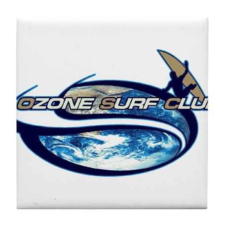 Surf club Tile Coaster