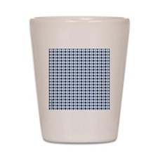 UNC Argyle Carolina Blue Tarheel Shot Glass