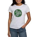 Green Celtic Spiral Women's T-Shirt