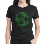 Green Celtic Spiral Women's T-Shirt - Mixed Colors