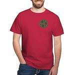 Green Celtic Spiral Mini T-Shirt - Dark Colors