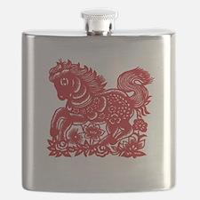 horseA82dark Flask