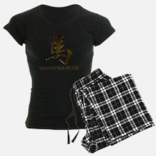 horseA83light Pajamas