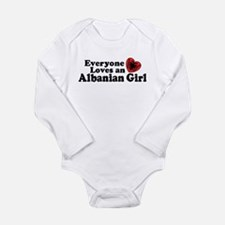 Albanian Girl Infant Bodysuit Body Suit