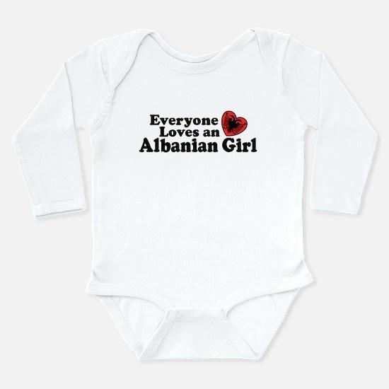 Albanian Girl Infant Bodysuit Body Suit