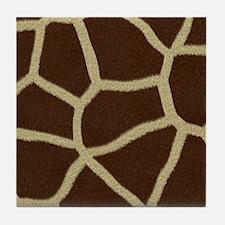 Wildlife Pattern Tile Coaster