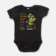 MARCH 17TH Baby Bodysuit