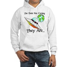 Big Saucer Coming To Earth Hoodie