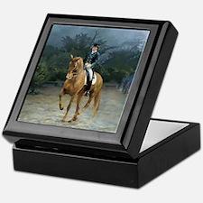 PB Piaffe Dressage Horse Keepsake Box