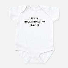 RELIGIOUS EDUCATION teacher Infant Bodysuit