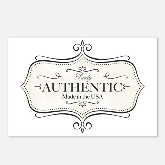 Purely Authentic Postcards (Package of 8)
