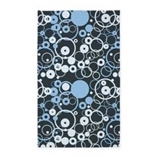 Funky Circles 3'x5' Area Rug