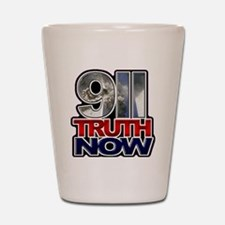 illuminati new world order 911 Shot Glass