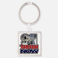 illuminati new world order 911 Square Keychain