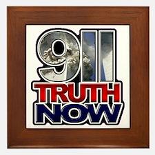illuminati new world order 911 Framed Tile