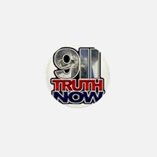 illuminati new world order 911 Mini Button