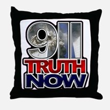 illuminati new world order 911 Throw Pillow